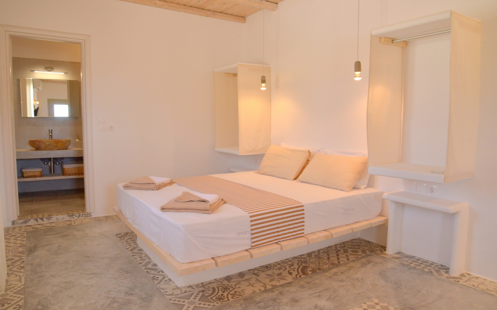 Alkyonis Double Room with Terrace